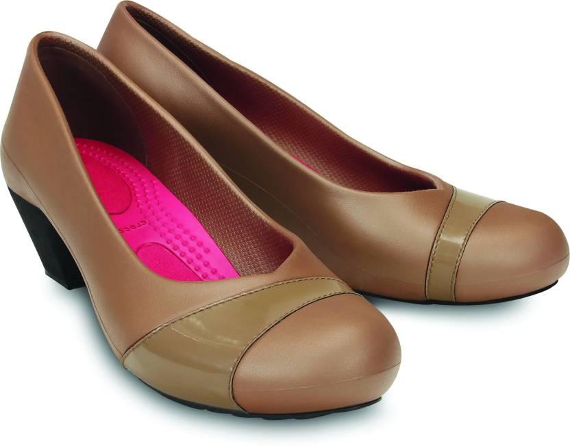 3844d8d5bf Crocs Women Bronze/Bronze Heels - Buy Bronze/Bronze Color Crocs Women  Bronze/Bronze Heels Online at Best Price - Shop Online for Footwears in  India ...