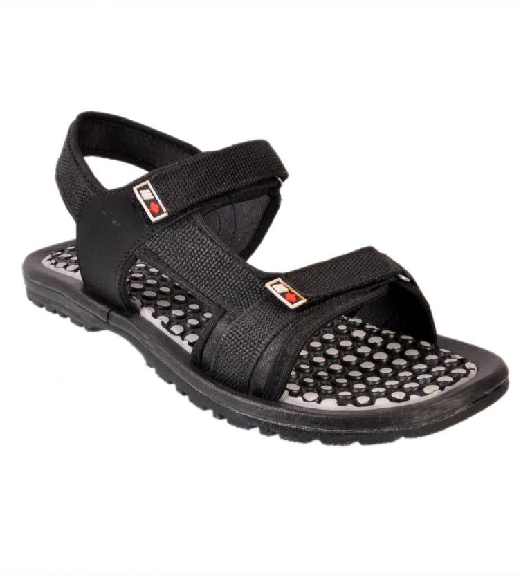 f34c6e1b6f4a Afrojack Men Black Sandals - Buy Black Color Afrojack Men Black Sandals  Online at Best Price - Shop Online for Footwears in India