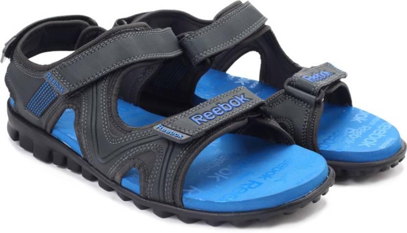 REEBOK Men GRAVEL BLUE Sports Sandals - Buy GRAVEL BLUE Color REEBOK Men  GRAVEL BLUE Sports Sandals Online at Best Price - Shop Online for Footwears  in ... de854a7df