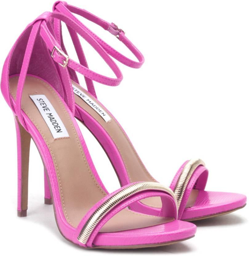 Steve Madden Women Pink Heels