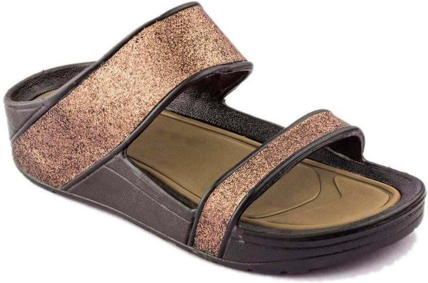 1dfbc0db68f7 ADDA Women Brown Flats - Buy Brown Color ADDA Women Brown Flats Online at  Best Price - Shop Online for Footwears in India
