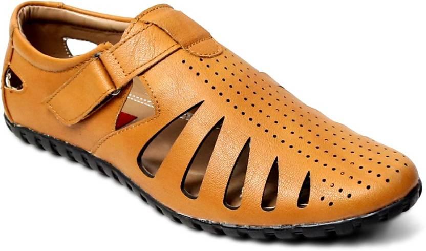 37b4783cb517 Peponi Men Tan Sandals - Buy Tan Color Peponi Men Tan Sandals Online at  Best Price - Shop Online for Footwears in India