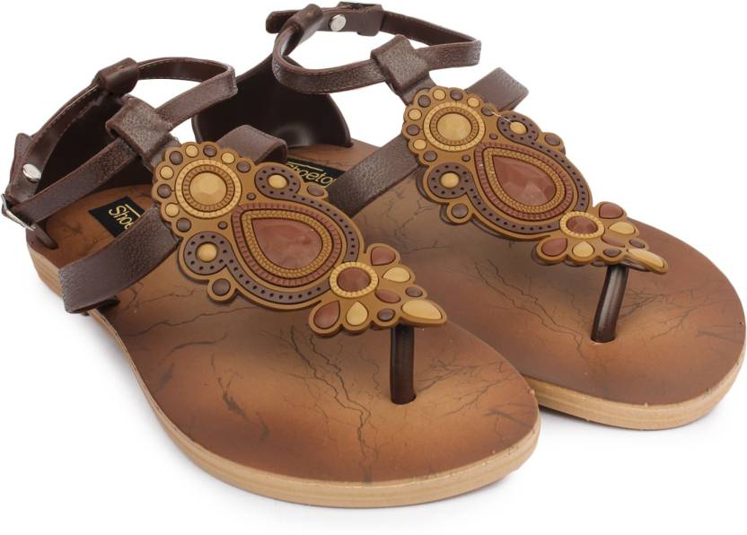 75e48baa31bf Shoetopia Women Brown Flats - Buy Brown Color Shoetopia Women Brown Flats  Online at Best Price - Shop Online for Footwears in India