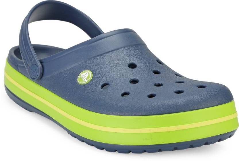 bf19a19bbd3 Crocs Men Navy Clogs - Buy 11016-40I Color Crocs Men Navy Clogs Online at  Best Price - Shop Online for Footwears in India