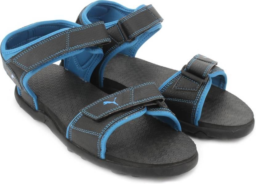 3dad0c8e9a70 Puma Men Puma Black-Blue Atoll Sports Sandals - Buy Puma Black-Blue Atoll  Color Puma Men Puma Black-Blue Atoll Sports Sandals Online at Best Price -  Shop ...