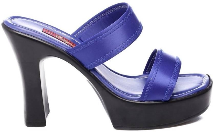 e5cb7dda4 Citywalk Shoes Women Blue Heels - Buy Blue Color Citywalk Shoes Women Blue  Heels Online at Best Price - Shop Online for Footwears in India