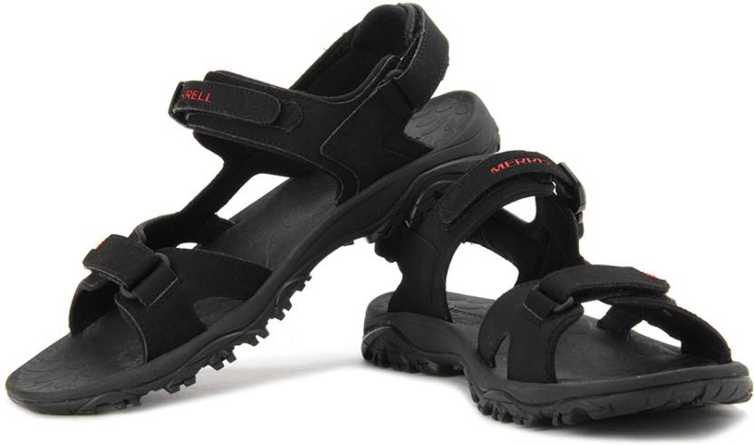 80a84a014 Merrell Men Black Sports Sandals - Buy Black Color Merrell Men Black Sports  Sandals Online at Best Price - Shop Online for Footwears in India