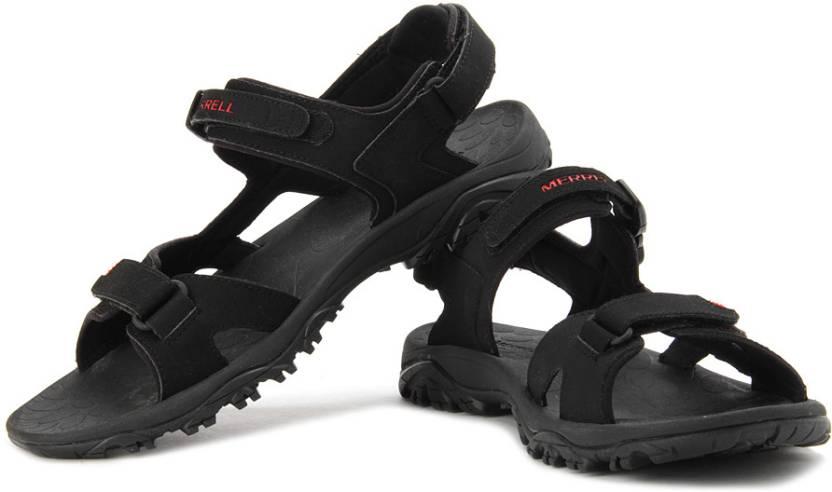 Men Merrell Color Black Sandals Buy Sports CdQBorthsx