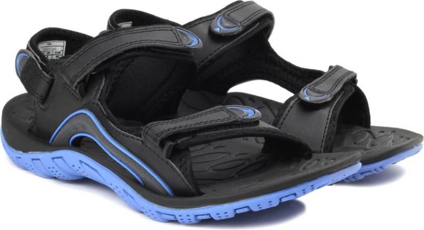 Kup online duża zniżka sprzedaż uk Fila Women Blk, Blu Sports Sandals