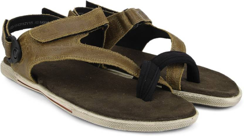 5eabf0b999d8 Woodland Men Camel Sandals - Buy Camel Color Woodland Men Camel Sandals  Online at Best Price - Shop Online for Footwears in India
