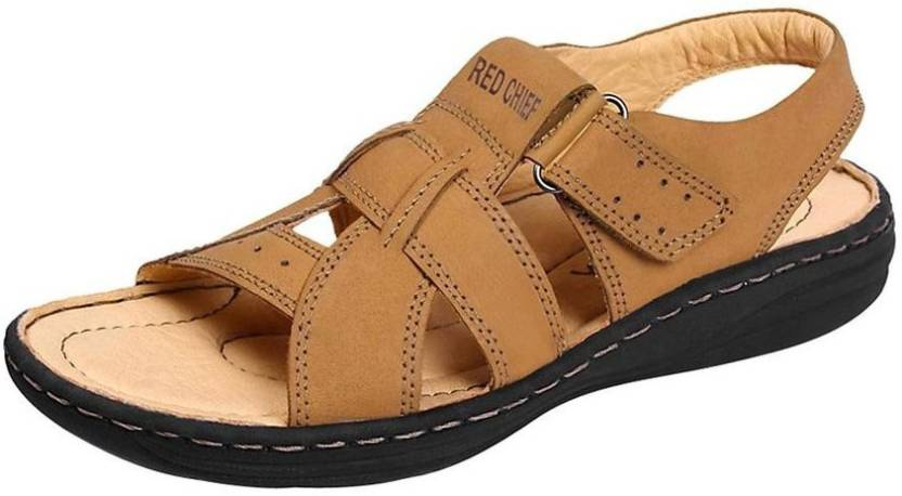 3e7ffe4e7e96 Red Chief Men Beige Sandals - Buy Rust Color Red Chief Men Beige Sandals  Online at Best Price - Shop Online for Footwears in India