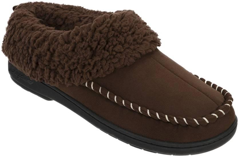 ff9a40217c3bf7 Dearfoams Women Brown Clogs - Buy Brown Color Dearfoams Women Brown ...