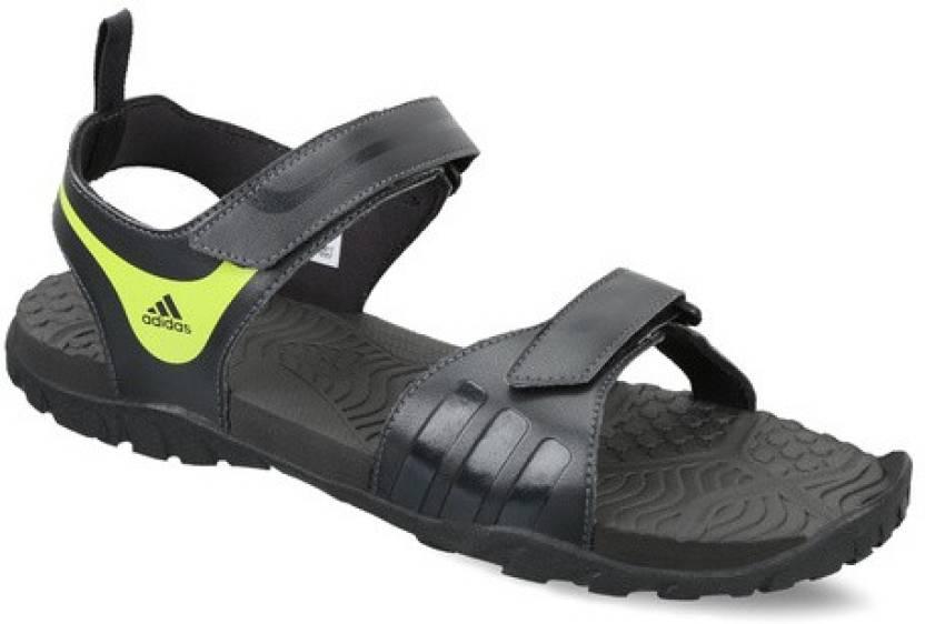6455035b9 ADIDAS Men Black Sandals - Buy Black Color ADIDAS Men Black Sandals Online  at Best Price - Shop Online for Footwears in India