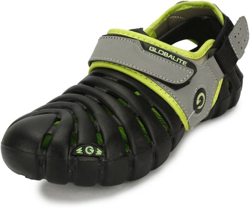 cee7d84c29c Globalite Men Black Lime Sports Sandals - Buy Black Lime Color Globalite  Men Black Lime Sports Sandals Online at Best Price - Shop Online for  Footwears in ...