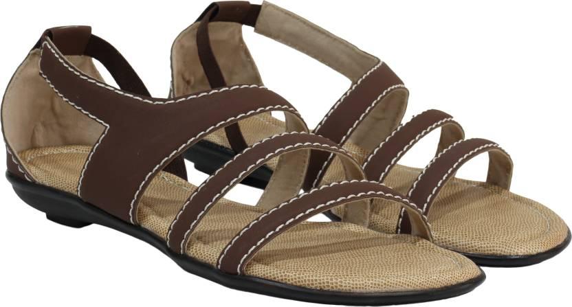 a02aa72e705c Scarlet Women Brown Flats - Buy Brown Color Scarlet Women Brown ...