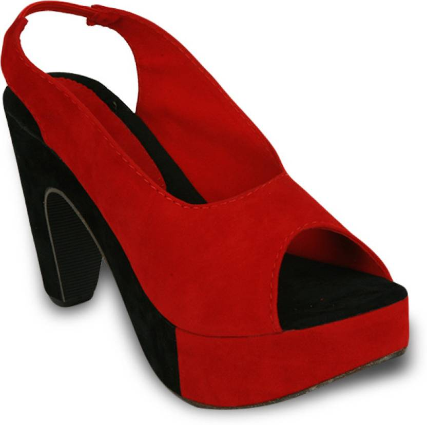 Studio 9 Women Red Heels - Buy Red Color Studio 9 Women Red Heels ...