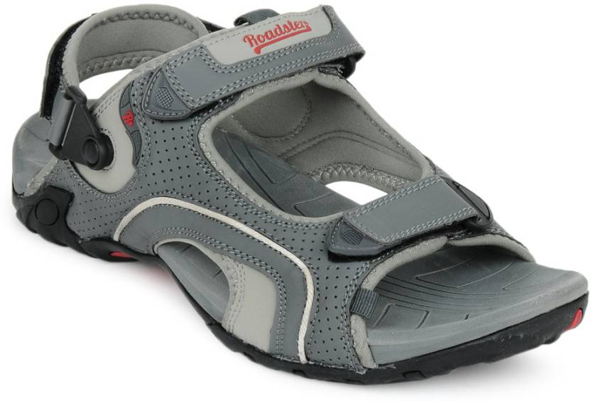 f6d4b9b20871 Roadster Men GREY Sandals - Buy GREY Color Roadster Men GREY Sandals Online  at Best Price - Shop Online for Footwears in India