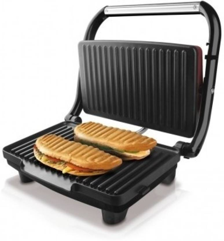 nova 2 slice panni grill sandwich maker grill toast price in india buy nova 2 slice panni. Black Bedroom Furniture Sets. Home Design Ideas