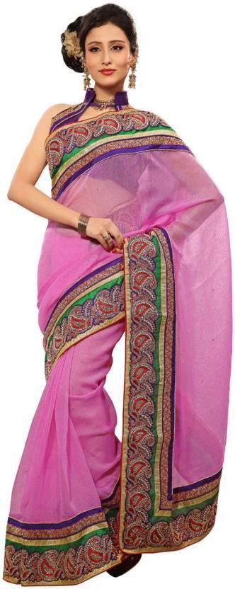 Ambaji Self Design Fashion Silk Sari