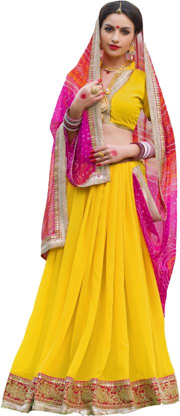 Roop Kashish Embellished Fashion Georgette Saree