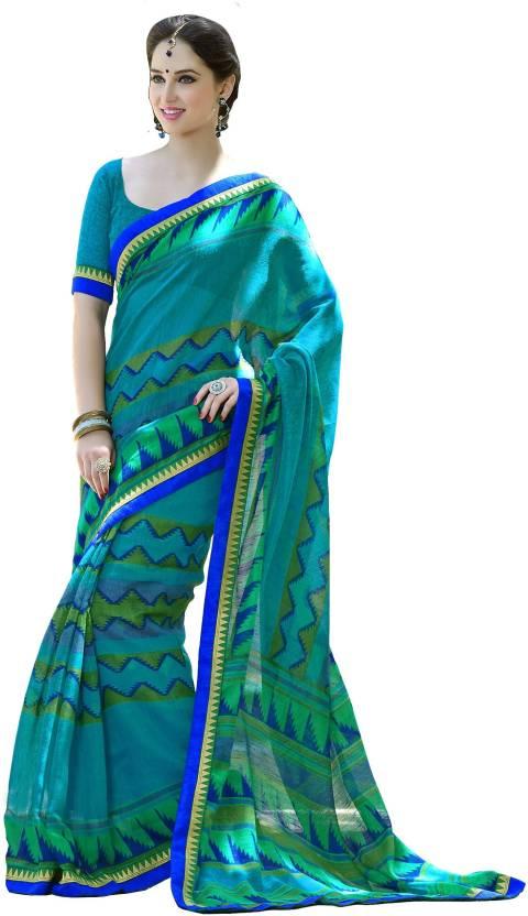 Khantil Printed Fashion Cotton Sari