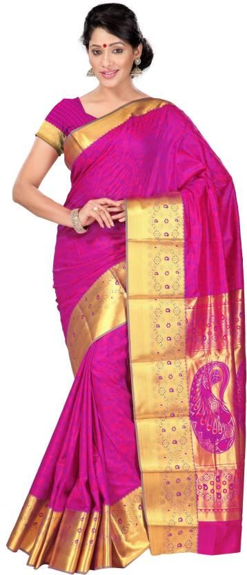 cf96190e02 Buy Saree Exotica Self Design Fashion Art Silk Multicolor Sarees ...