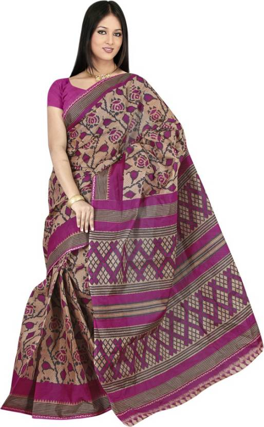 718418f3f7 Buy TAARIKA Printed Daily Wear Cotton Multicolor Sarees Online ...