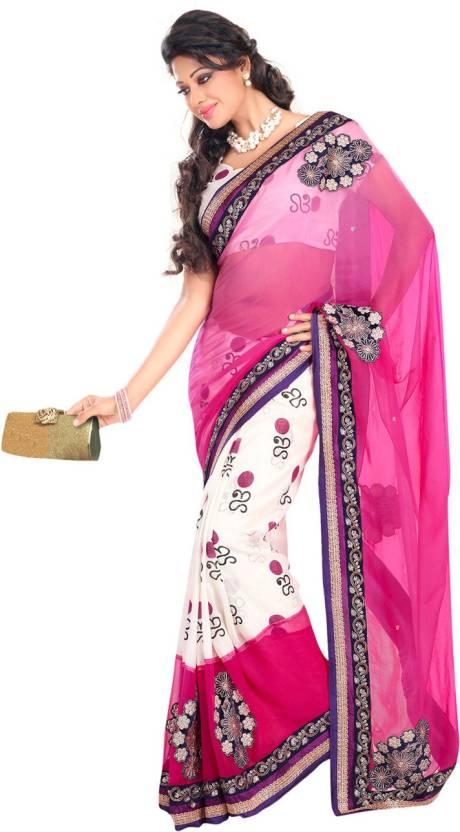 Ambaji Geometric Print Bhagalpuri Cotton Saree