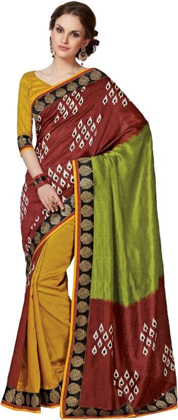 Roop Kashish Printed Fashion Art Silk Saree