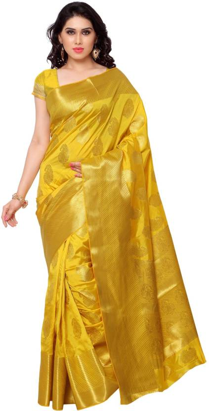 Varkala Silk Sarees Woven Kanjivaram Saree