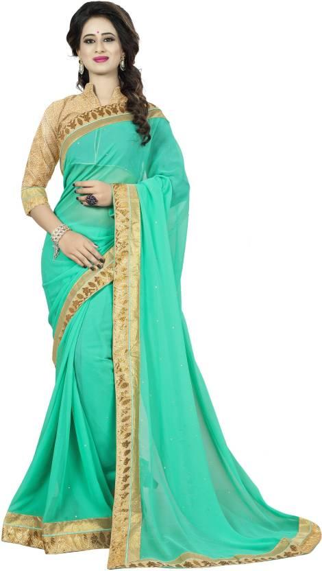 fedfd8f6bc4338 Buy Aai Shree Khodiyar Art Embroidered Fashion Georgette Multicolor ...