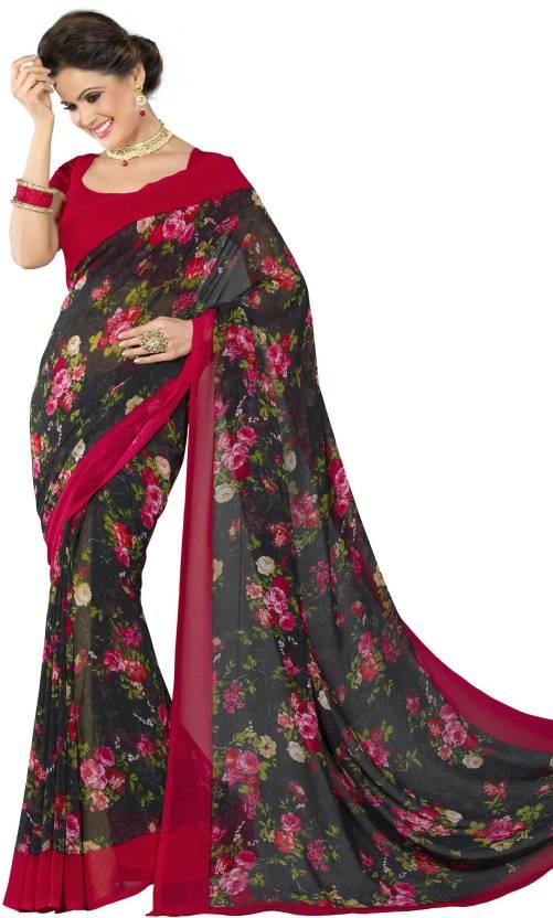 Roop Kashish Embellished Fashion Georgette Saree