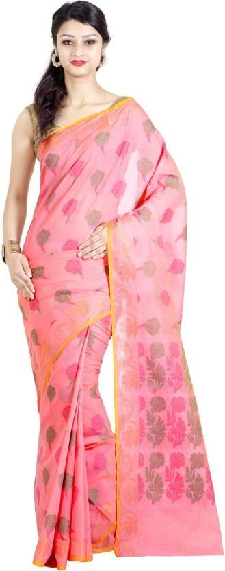 Chandrakala Printed Banarasi Silk Cotton Blend Saree