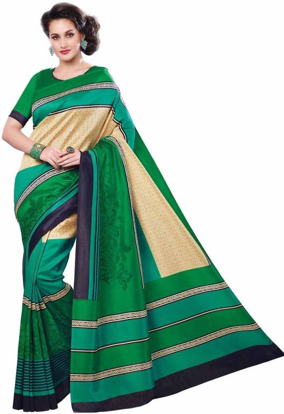 Vipul Printed Fashion Silk Saree