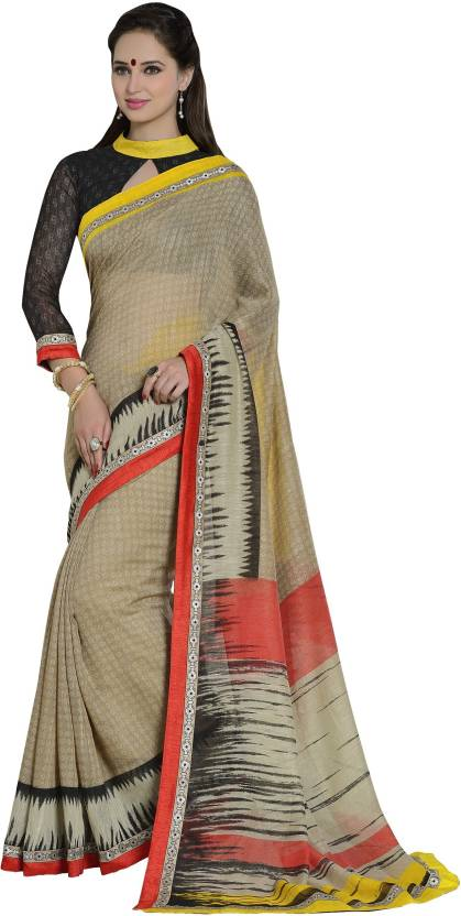 Khantil Printed Fashion Cotton Saree
