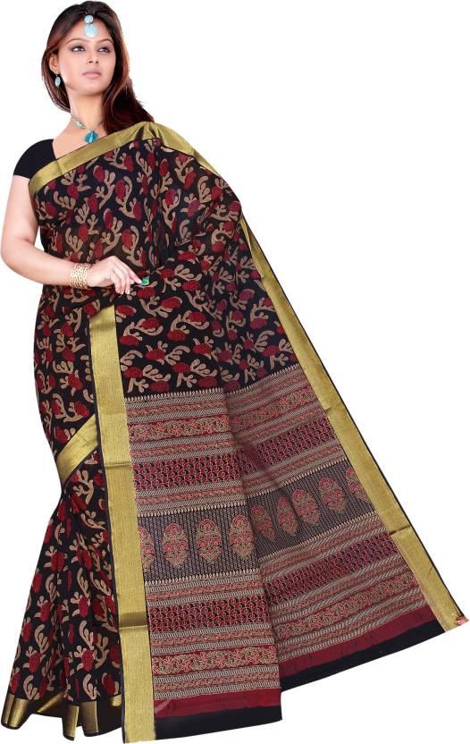 Suhanee`s Exclusive Printed Chanderi Cotton Saree