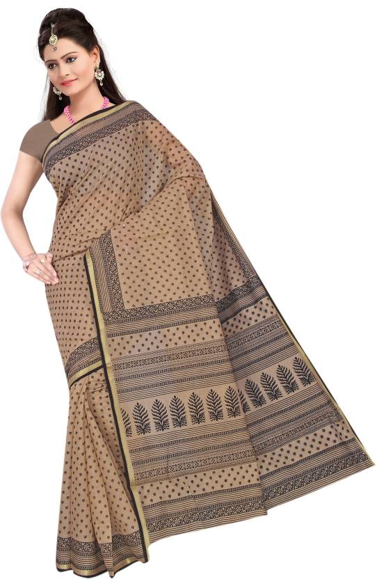 Suhanee`s Exclusive Printed Daily Wear Chanderi Sari