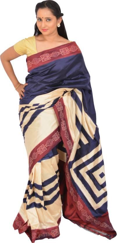 32d7877c5d72b0 Buy Ikat Art Woven Pochampally Pure Silk Multicolor Sarees Online ...