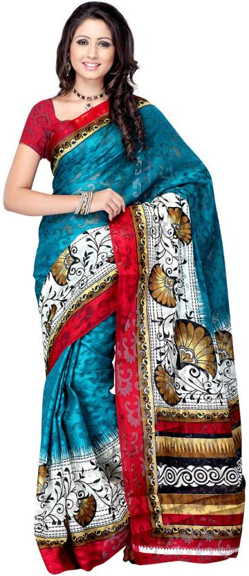 Ambaji Printed Daily Wear Jacquard Saree