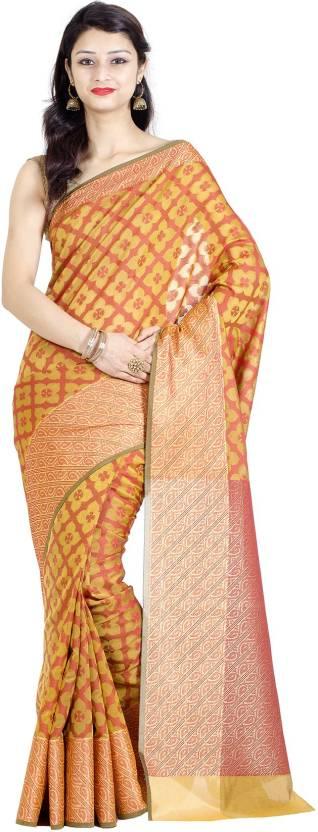 Chandrakala Woven Banarasi Banarasi Silk Saree