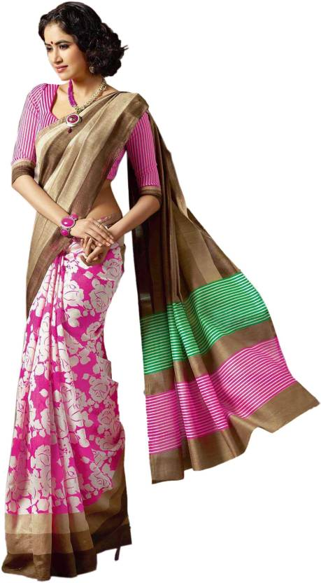 Ishin Self Design Fashion Silk Saree