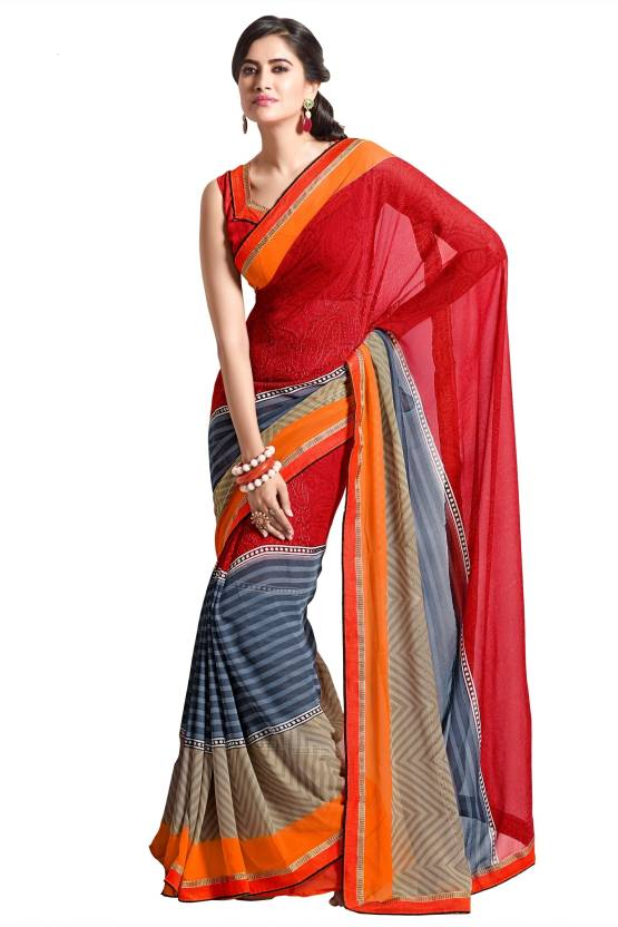Roop Kashish Printed Fashion Chiffon Sari
