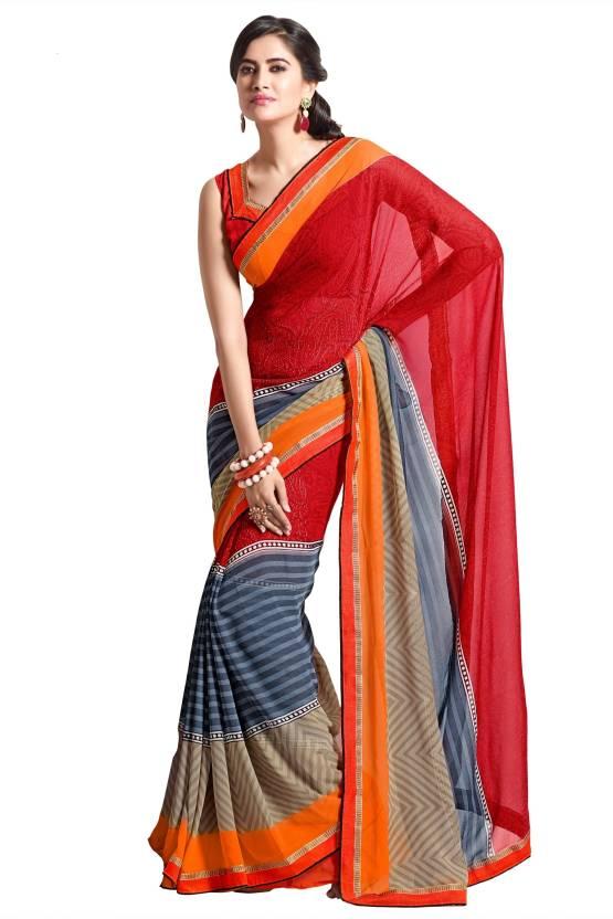 Roop Kashish Printed Fashion Chiffon Sari