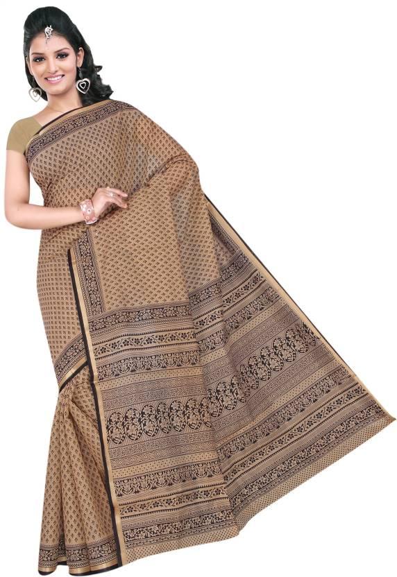 Suhanee`s Exclusive Printed Daily Wear Chanderi Saree