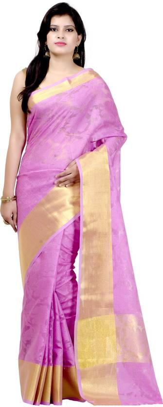 Chandrakala Self Design Banarasi Handloom Kota Cotton Saree