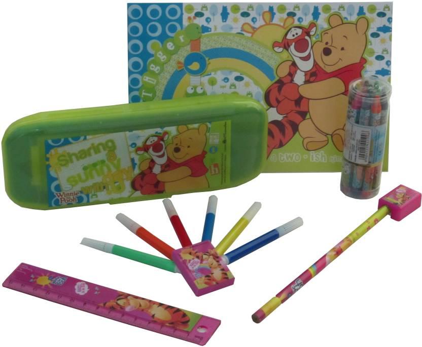 Disney Winnie the Pooh School Set