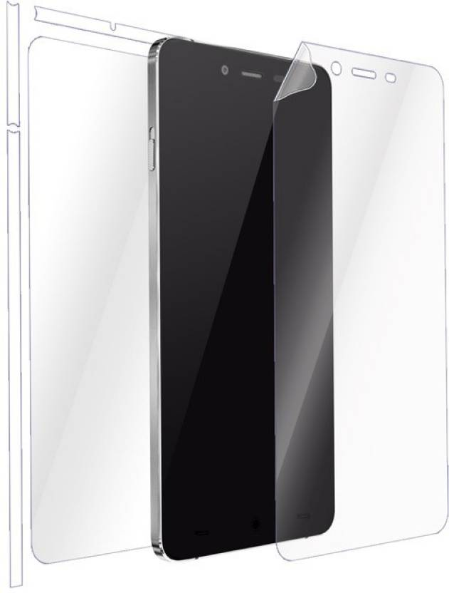 separation shoes 8ee5c 7f921 Gadgetshieldz Front and Back Screen Guard for Oneplus X ...