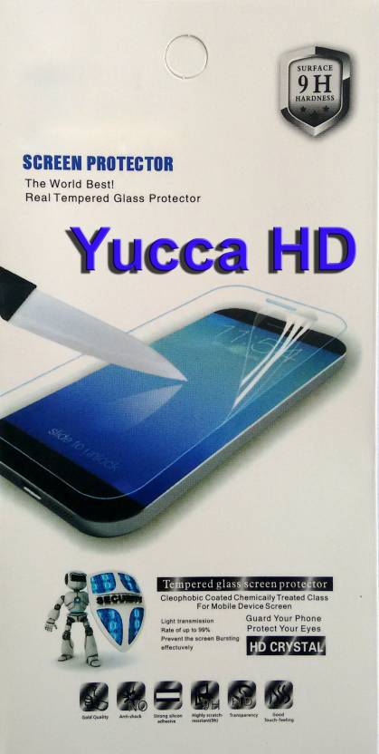 YuccaHD Tempered Glass Guard for Apple iPhone 6S, Apple iPhone 6G
