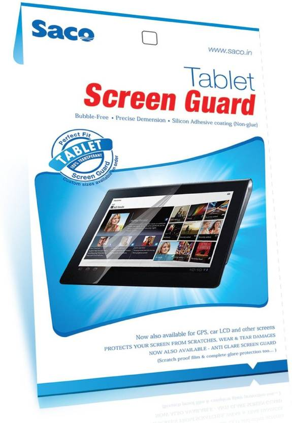 Saco Screen Guard for Tablet iBall Slide 1026 Q18 Pack of 1