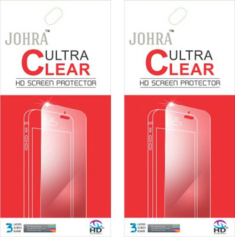 Johra Screen Guard for Samsung Galaxy S7 Pack of 2